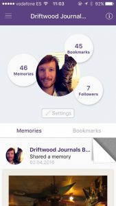 Ben Holbrook Driftwood Journals Wicard App for Foodies and Travellers