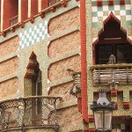 Antoni Gaudi's first commissioned house projects ~ (Carrer de les Carolines, 18-24)