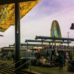 The new Encants flea market in Poblenour Barcelona - the oldest flea market in Europe