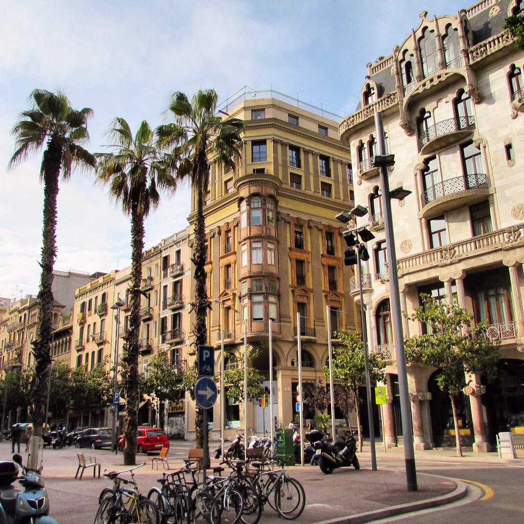 Palaces converted to luxury hotels in Eixample