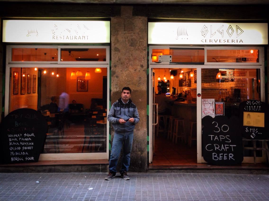 Ølgod craft beer bar Raval Barcelona - C/ Hospital 74 Barcelona Exterior Photo