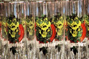 Naparbier craft beer skull logo