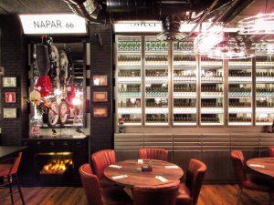 Interior Designer Lázaro Rosa-Violán work at NaparBCN brewpub in Barcelona