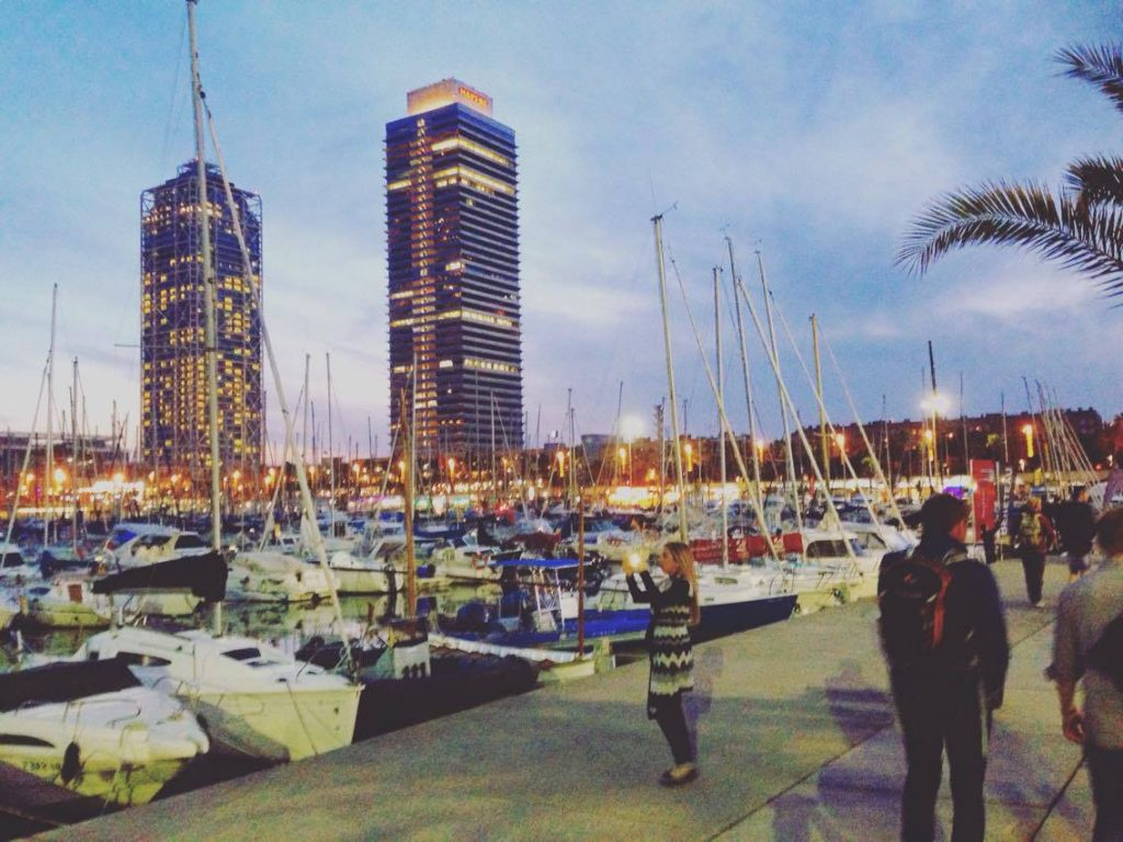 Port Vell Barcelona, where you can enjoy Barcelona boat trips on Minerva www.bcnboat.com