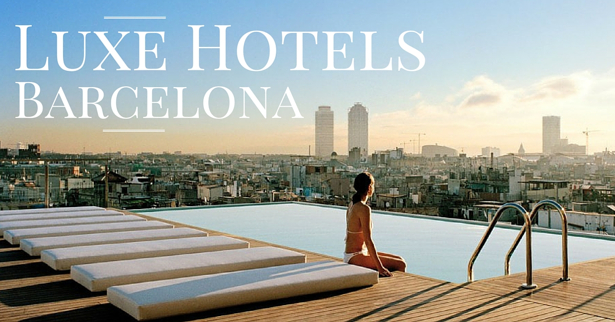 Luxury Hotel in Barcelona - A Guide by Ben Holbrook from Driftwood Journals Travel Blog