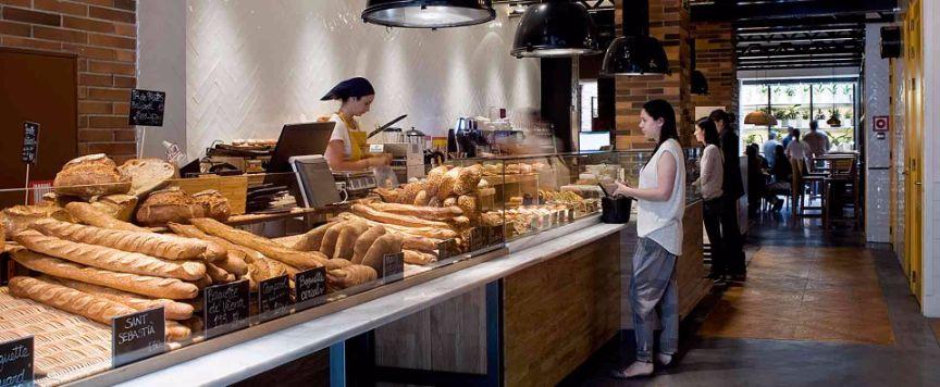 Hotel Praktik Foodie Bakery Hotel in Barcelona's chic Eixample Neighbourhood Bakery