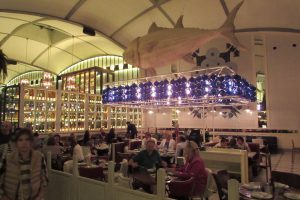 The fish restaurant in El Nacional Barcelona