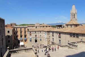 The sweeping views of Girona city, Catalunya
