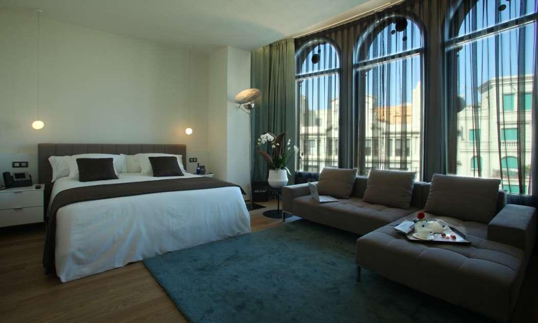 Luxury hotel suite in Barcelona