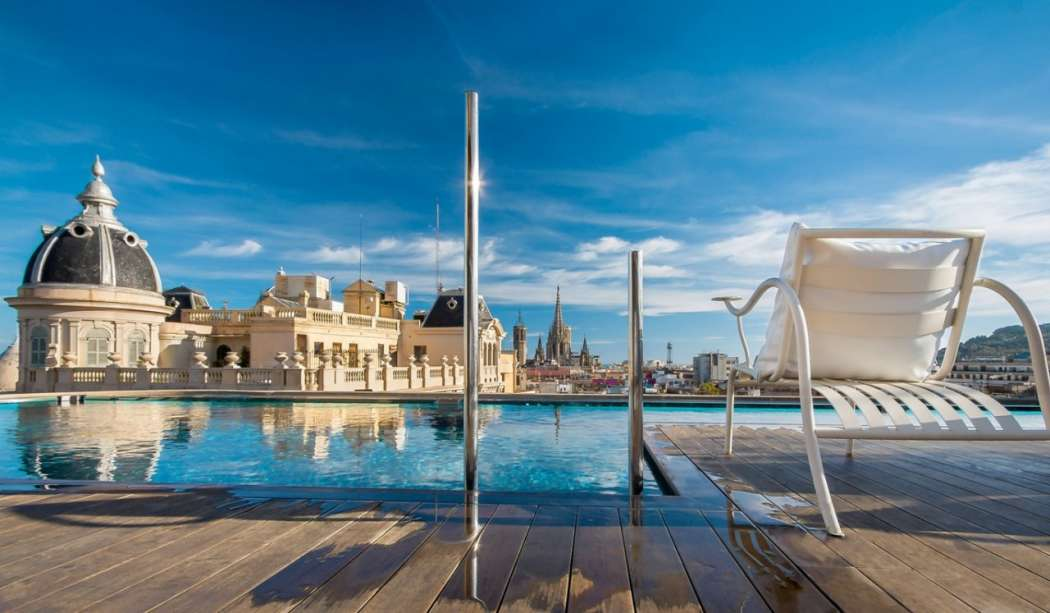 Ohla 5 Star Luxury Boutique Hotel in Barcelona