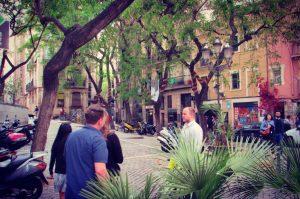 Leafy street strolls in the Born barrio