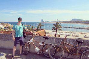 Me and my bamboo beach chopper