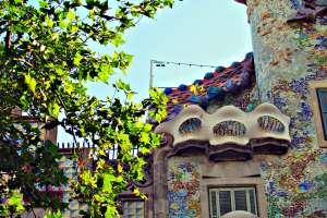 Antoni Gaudi's Casa Batllo in BarcelonaAntoni Gaudi's Casa Batllo in Barcelona