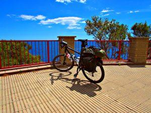 Bike touring the Costa Brava Sant Feliu de Guíxols