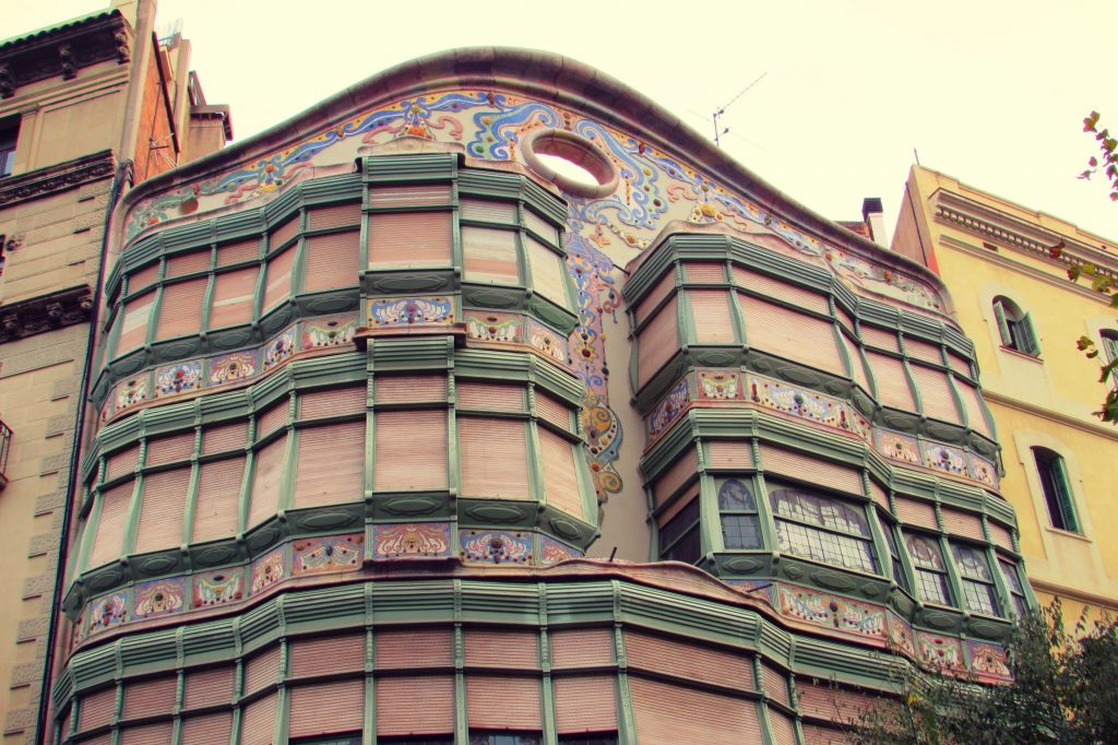 Casa Comalat Modernist Building in Barcelona