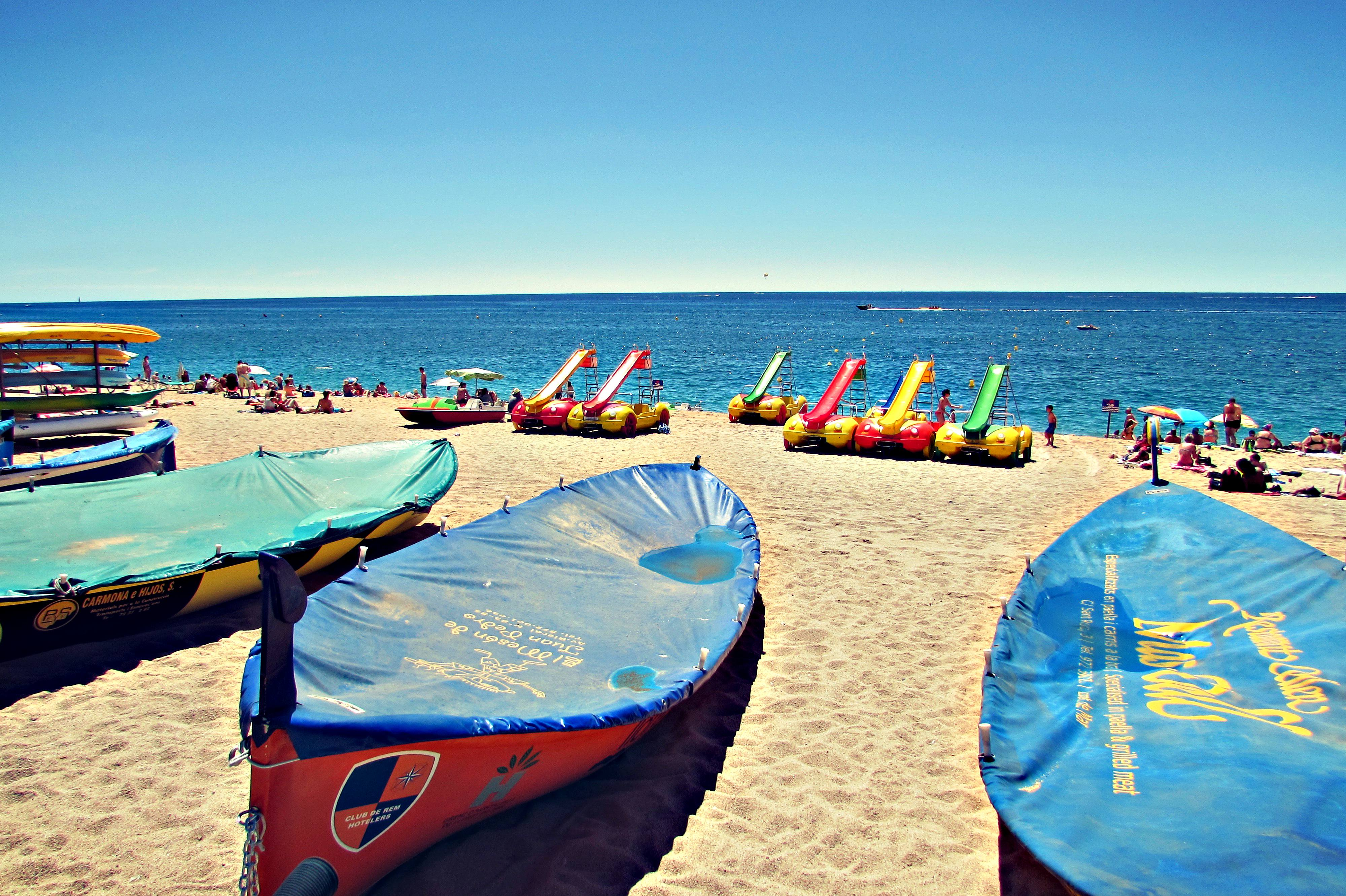 Lloret De Mar Beach Costa Brava