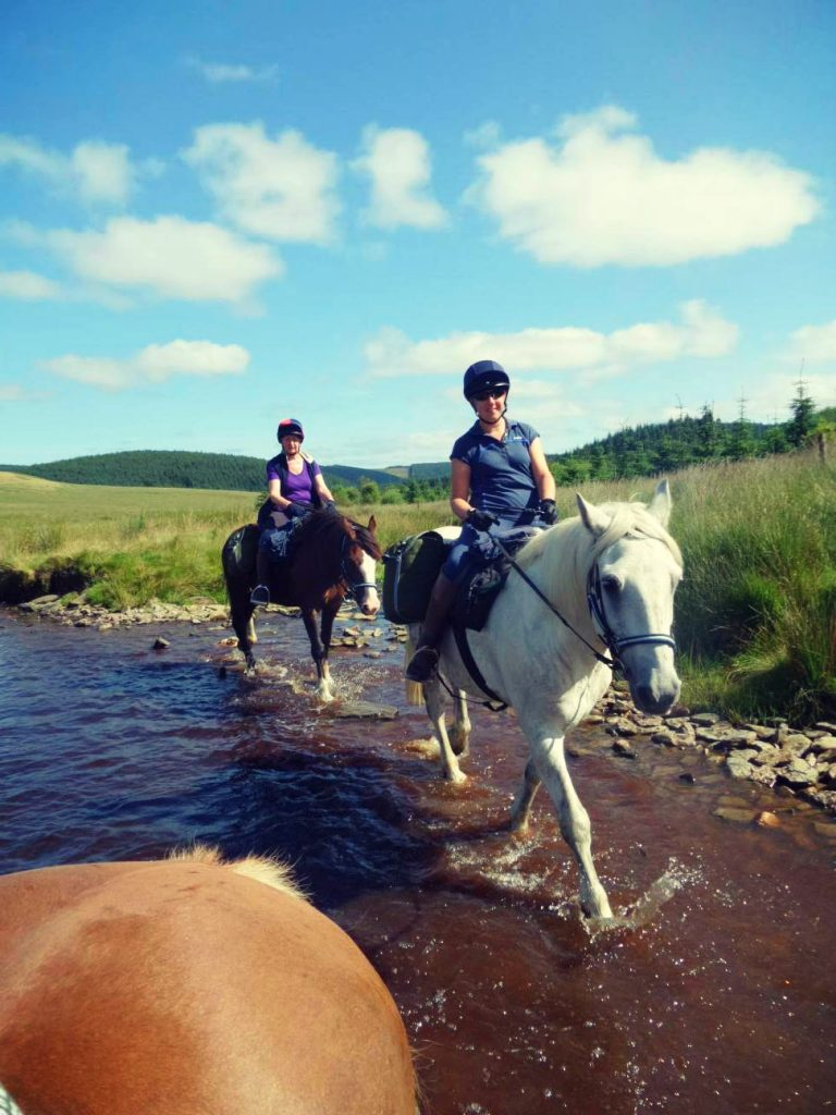 Self-Guided Horse Riding Holidays in Wales