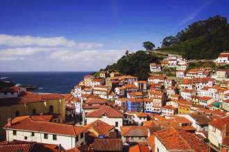 Fisherman's Village of Cudillero, Asturias