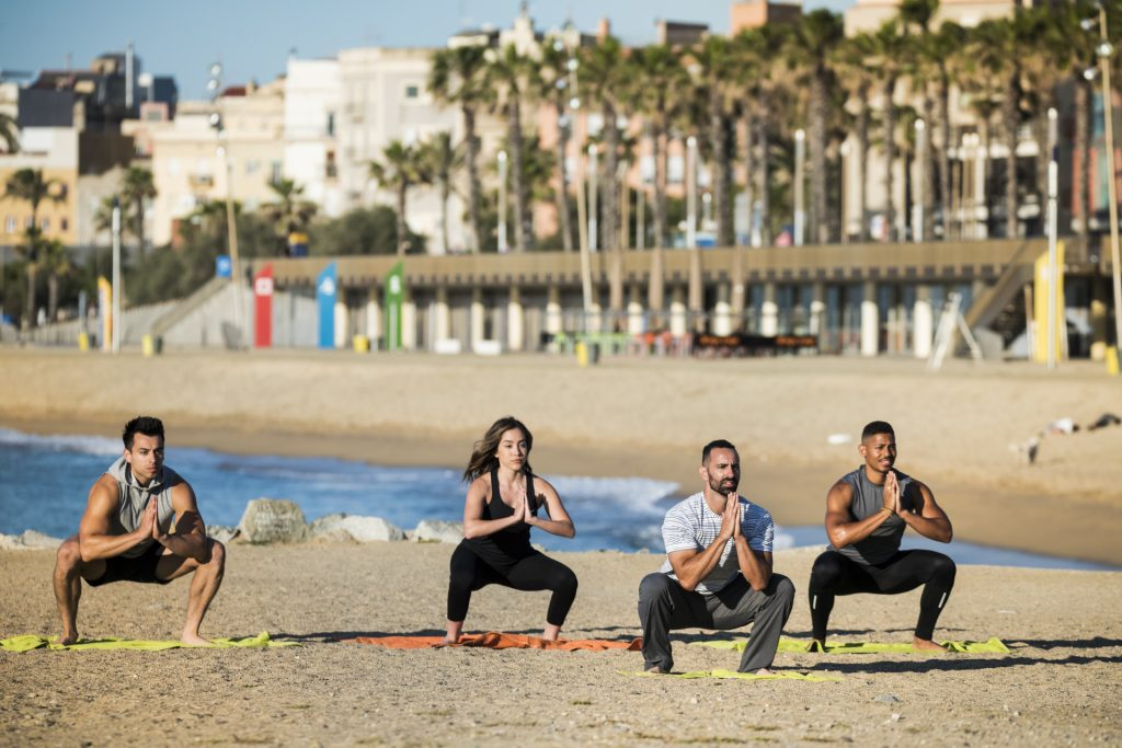 Barcelona Free Outdoor Fitness Bootcamp at the Beach