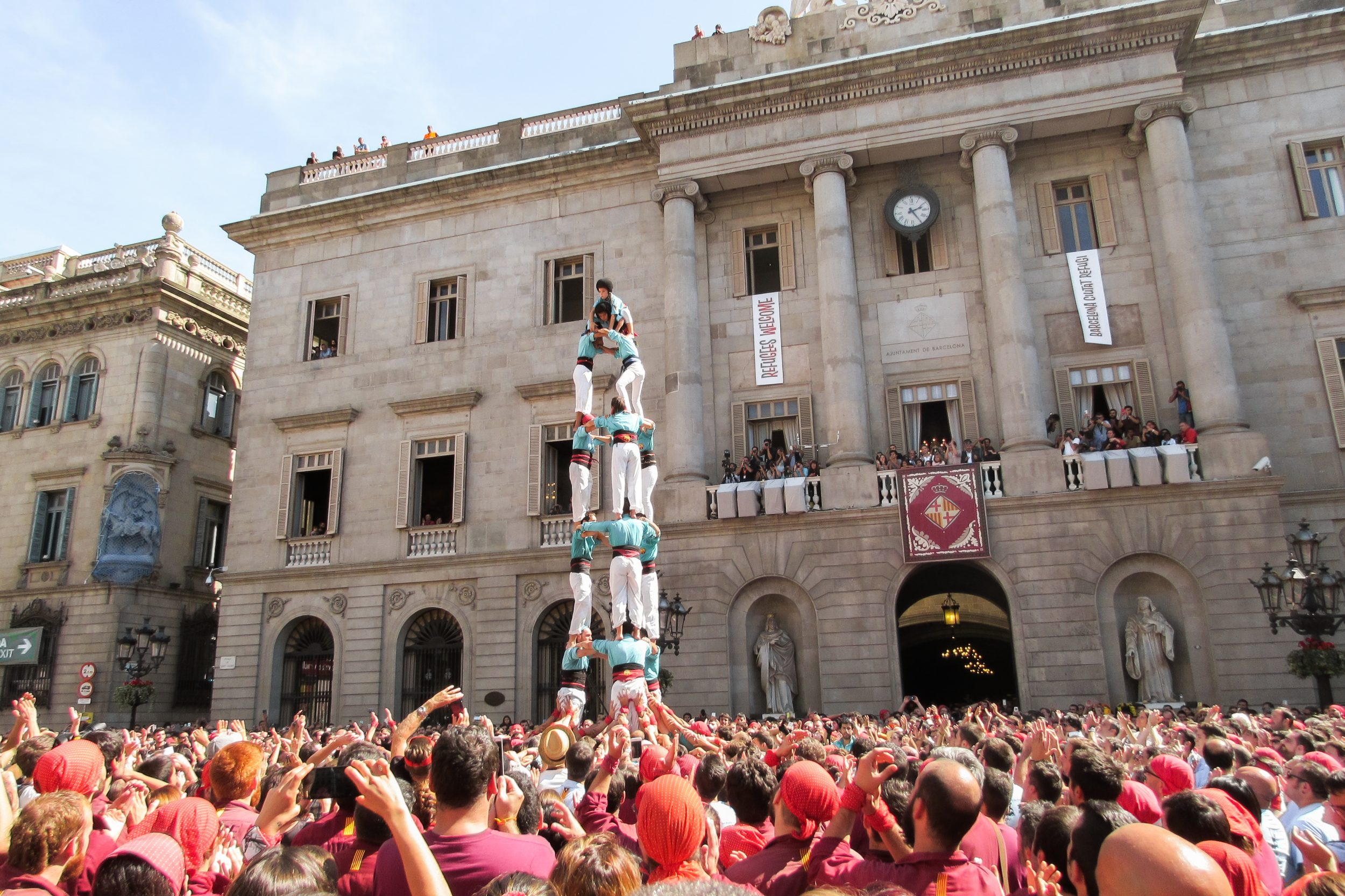 What to see and do during Barcelona's La Merce Festival - Every September - by Ben Holbrook