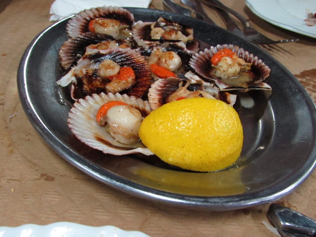 Clams in Asturias