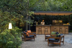 Hotel Alma Interior Garden Bar and Cafe