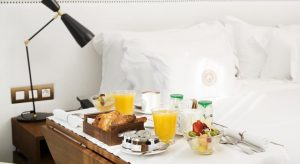 Free breakfast in Bed Barcelona