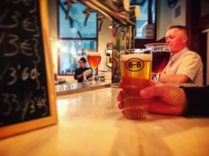 Beers at Barna-Brew, Sant Antoni, Barcelona Brewpub