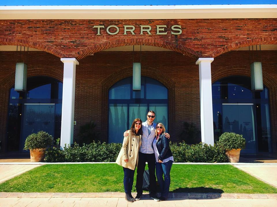 Torres Winery in Penedes outside of Barcelona