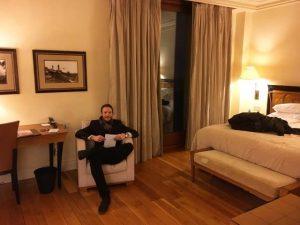 Ben Holbrook Gran Hotel La Florida Hotel in Barcelona
