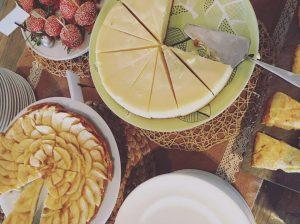 Breakfast buffet at Gran Hotel La Florida Hotel in Barcelona