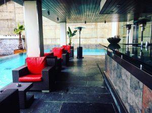 POol bar Gran Hotel La Florida Hotel in Barcelona