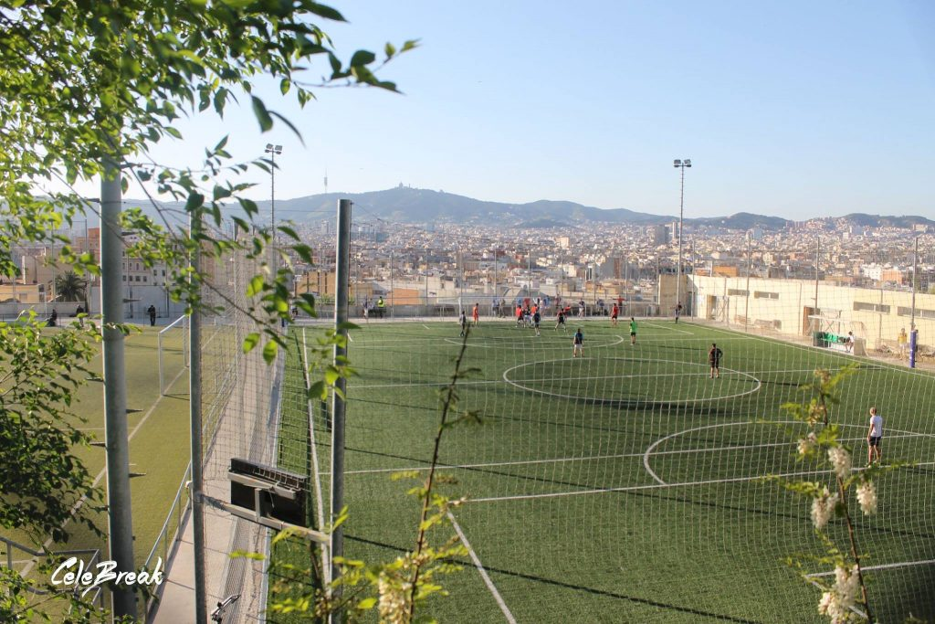 La Satalia football pitch in Barcelona