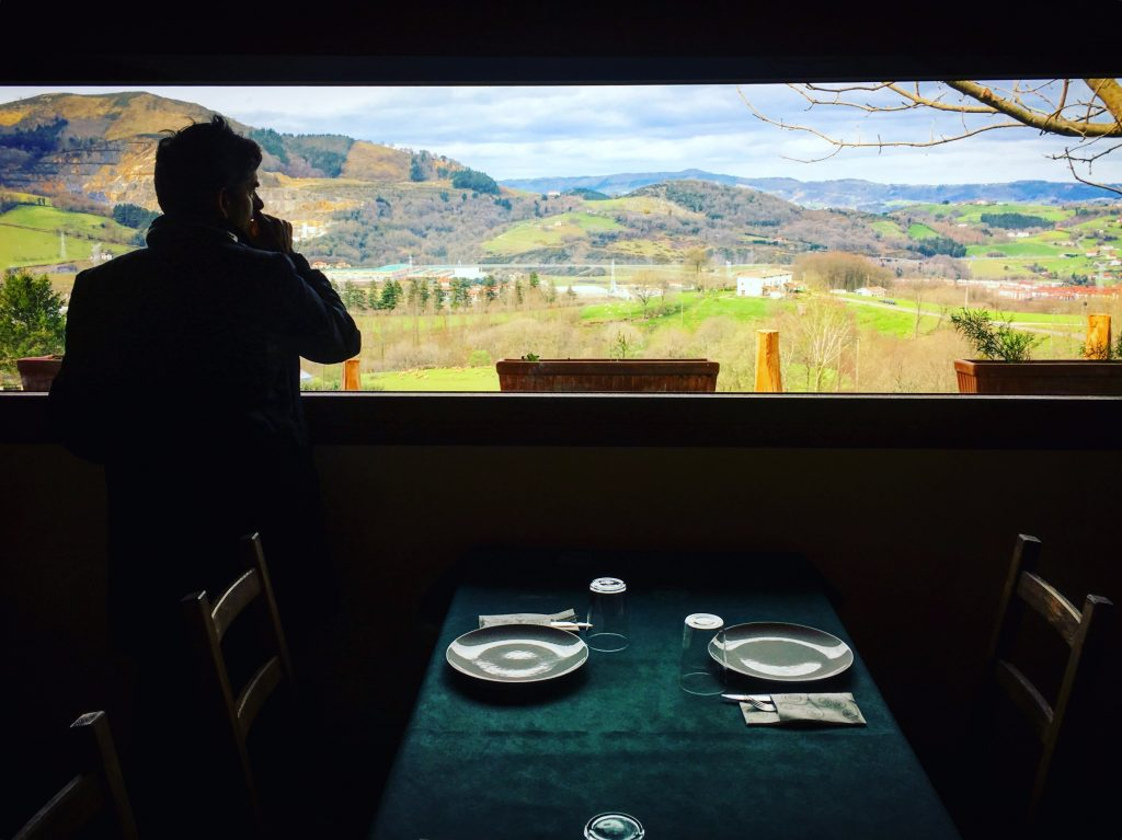 Cheese tasting with a view at Mikel's farm