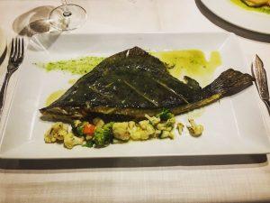 Restaurante Portalón fish