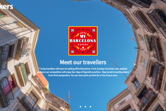 """Ebookers """"My Barcelona"""" Travel Blogger Competition Campaign"""