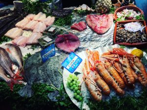 Vitoria market fish