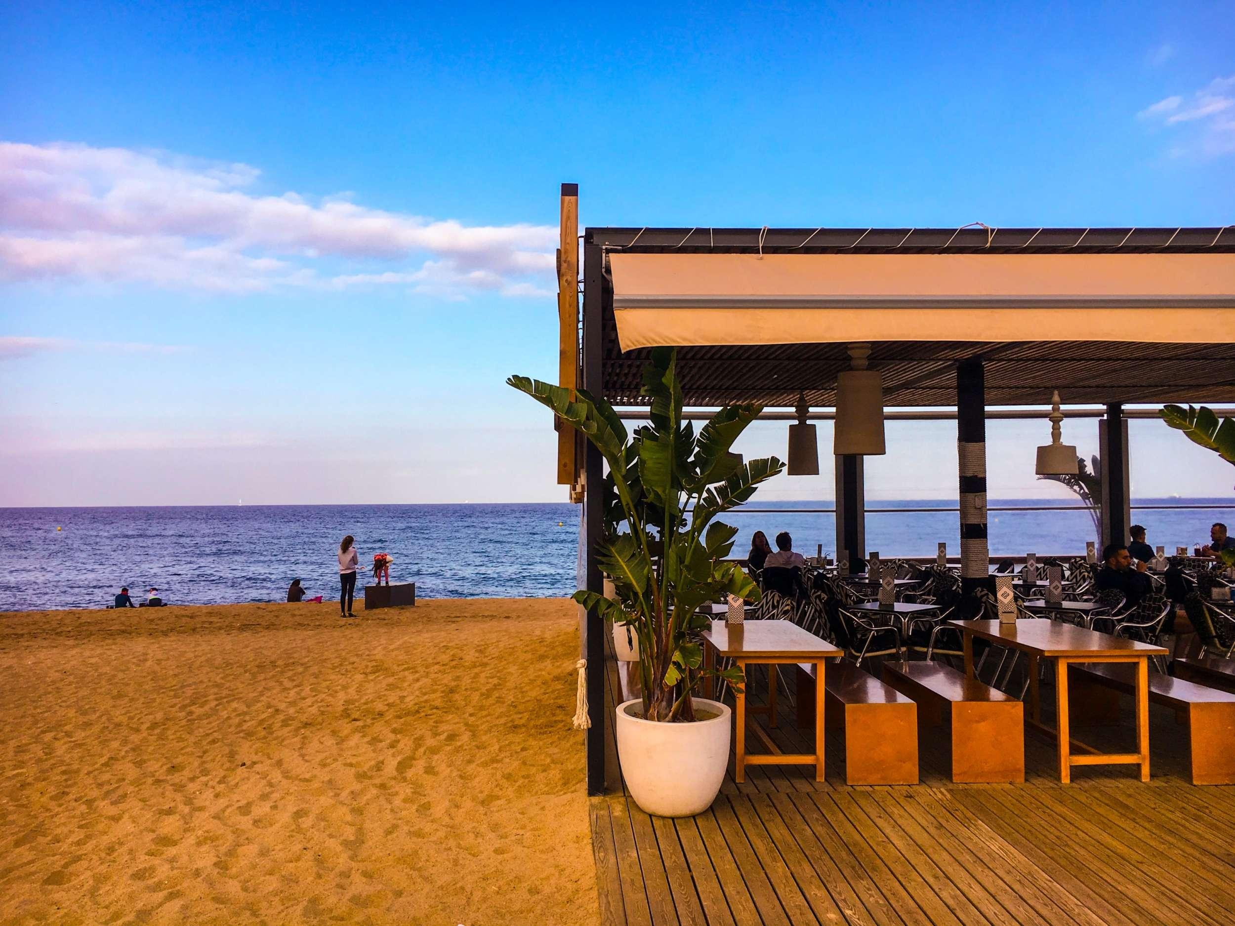 Chiringuito Barceloneta Beach Barcelona