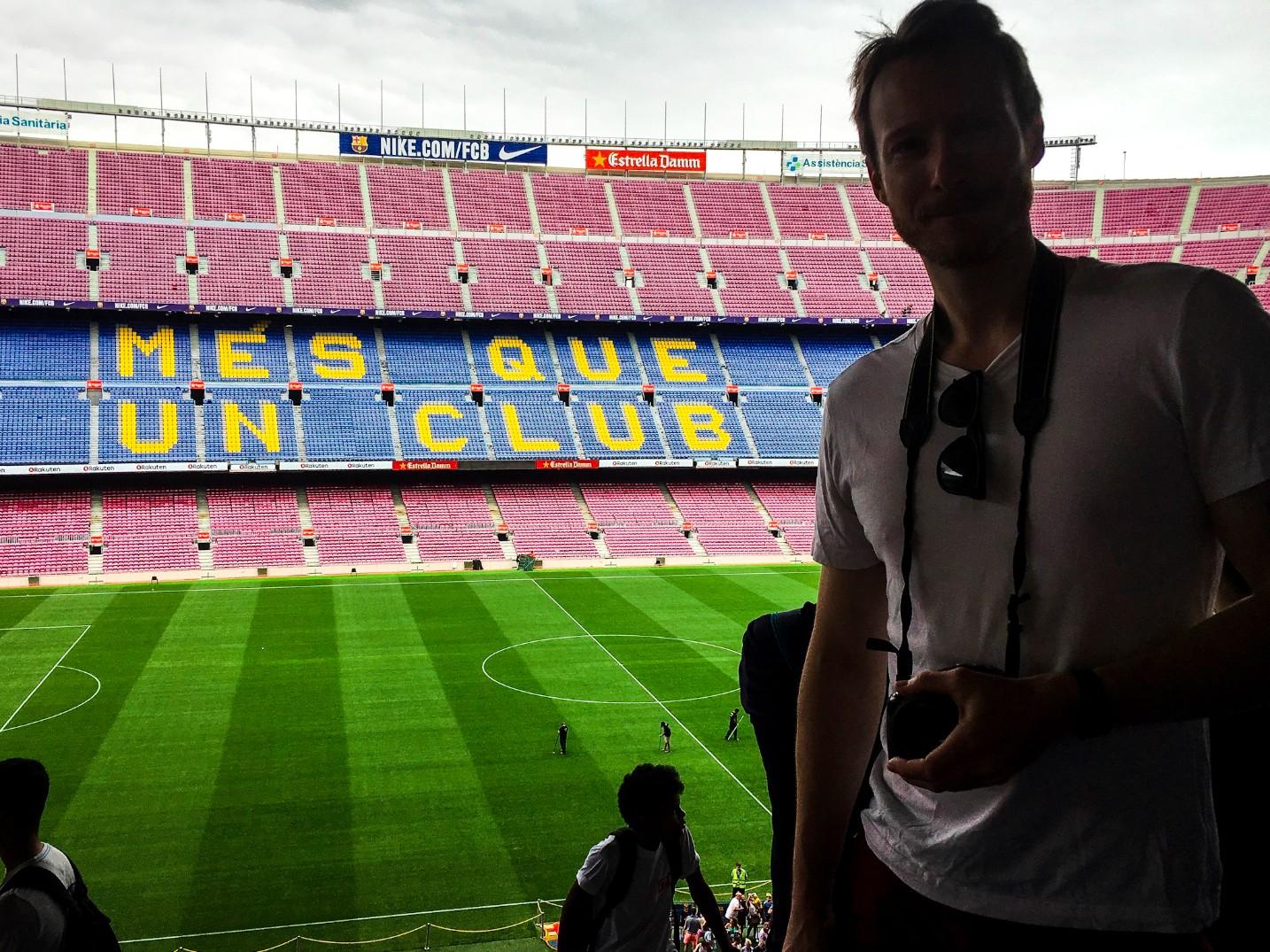 8545b2592 Ben Holbrook Travel Blogger Barcelona Camp Nou Experience Tour & Museum ( Barcelona): Més