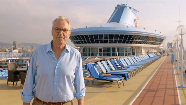Larry Lamb Cruise-Mates in Barcelona