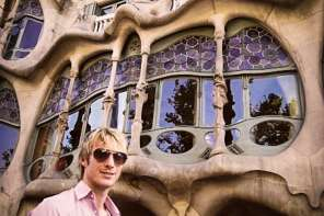Travel writer Ben Holbrook's first day in Barcelona at Casa Batllo, Barcelona