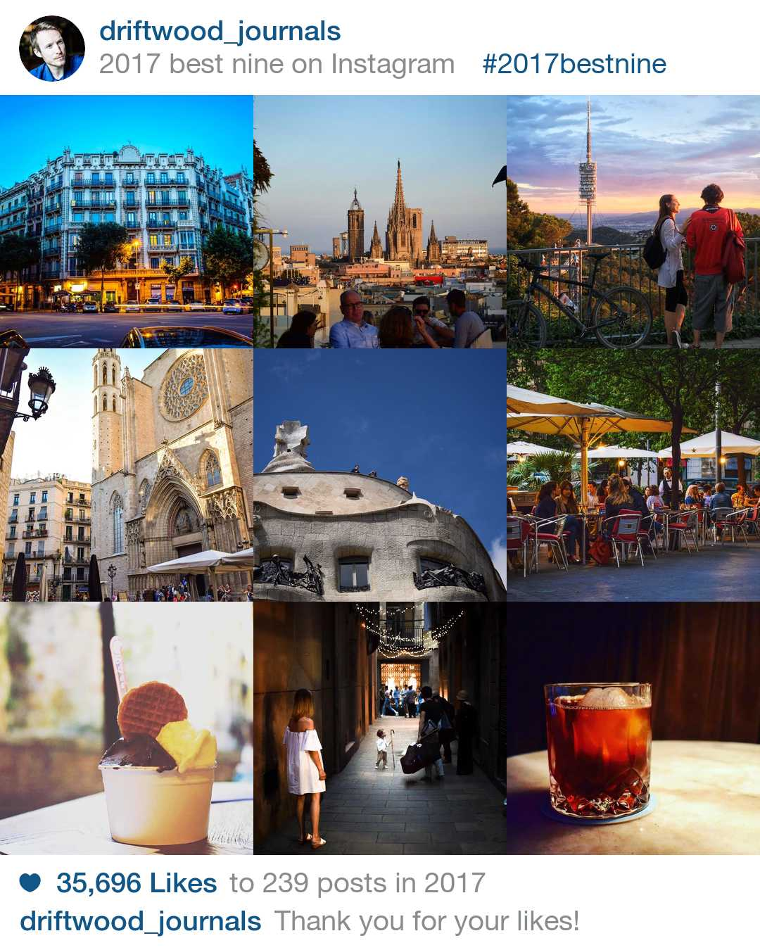 Best of 2017 Driftwood Journals Spain Travel Blog