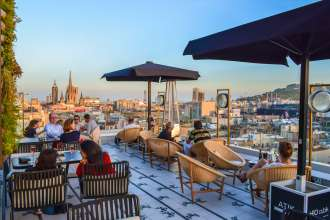 H10 Cubik 4-star hotel Barcelona city centre