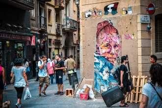 Raval Street Art in Barcelona - By Ben Holbrook