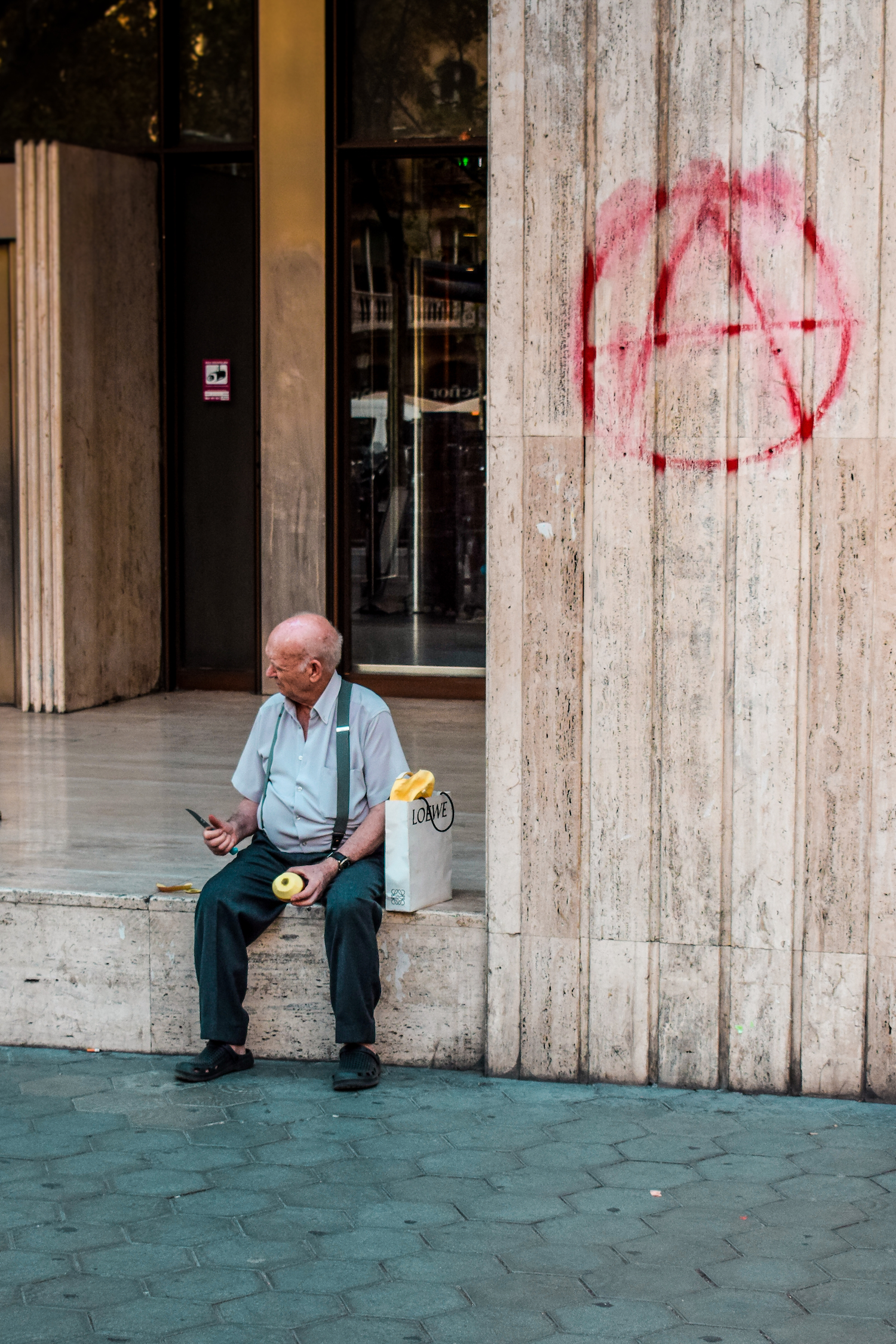 Anarchy in Barcelona - by Ben Holbrook