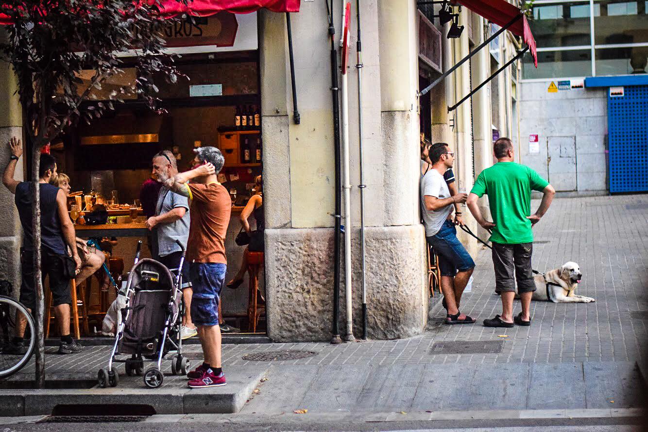 Plaça del Sortidor, Poble Sec, Barcelona - by Ben Holbrook