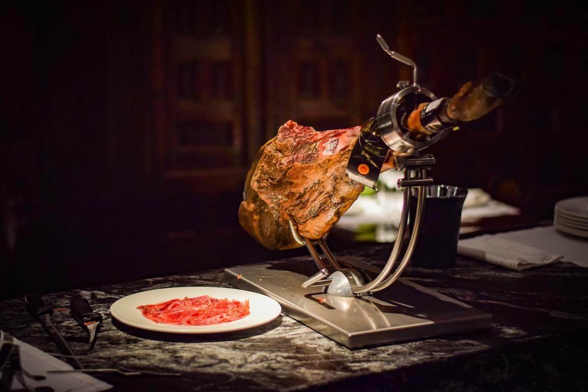 Spanish leg of ham / jamon - by Ben Holbrook