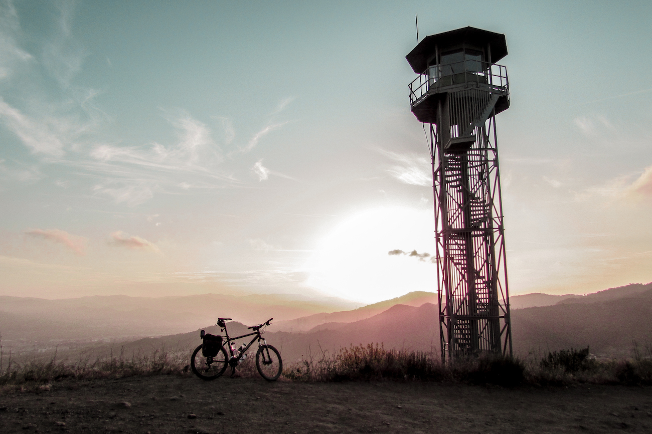 Collserola Mountain Biking Trails in Barcelona