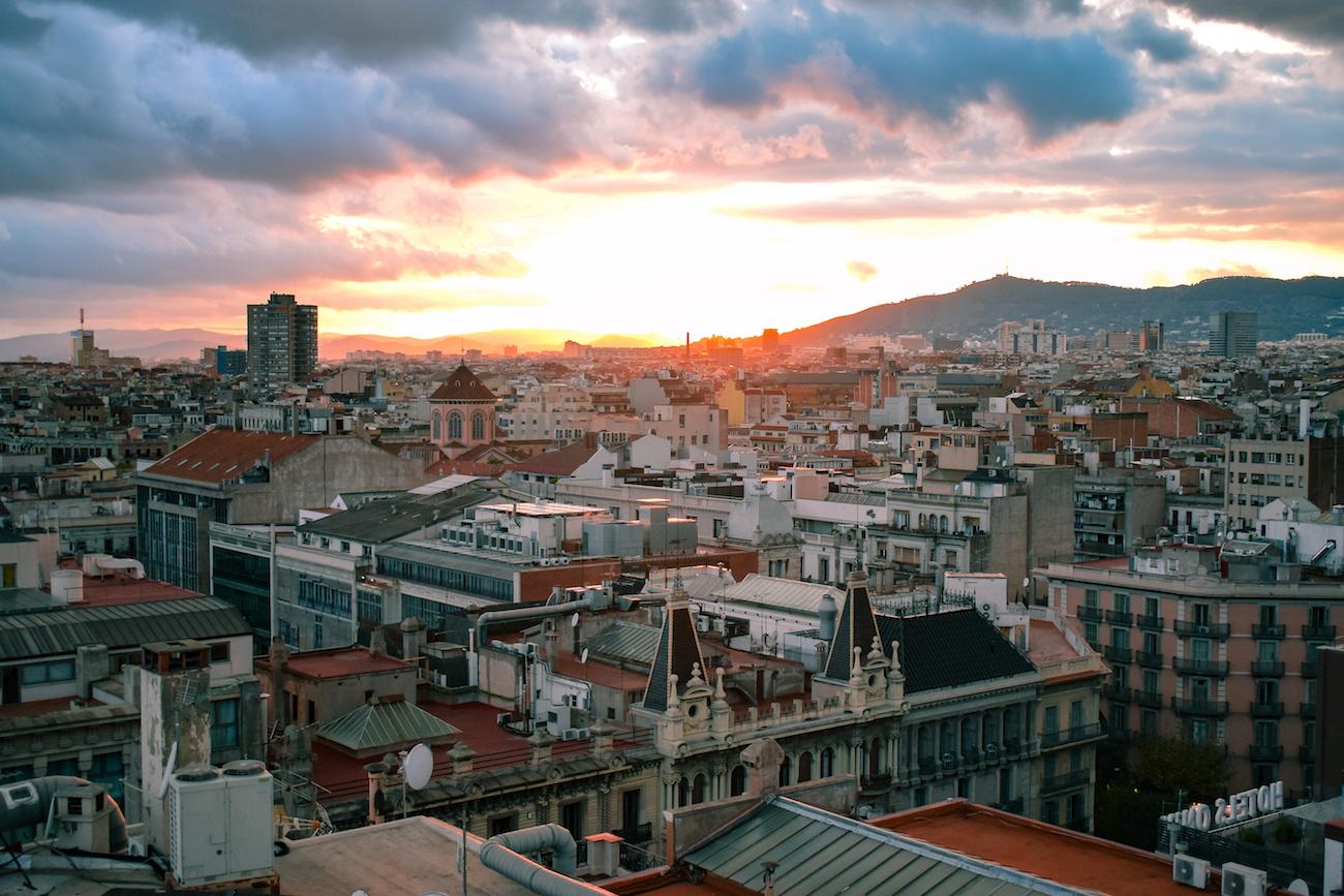 Avenida Palace Hotel in Barcelona - by Ben Holbrook