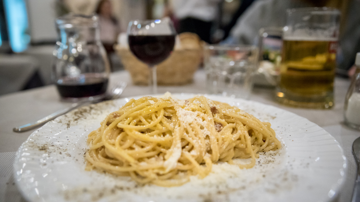 The best carbonara in Rome